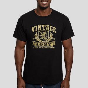 Vintage 1957 Men's Fitted T-Shirt (dark)