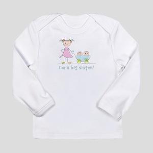 Lolli_BigSis_Twins_w Long Sleeve T-Shirt