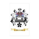 Barthelmy Sticker (Rectangle 50 pk)