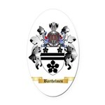 Barthelmes Oval Car Magnet