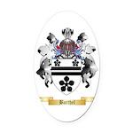 Barthel Oval Car Magnet
