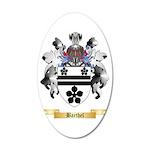 Barthel 35x21 Oval Wall Decal