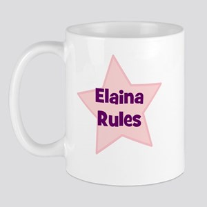 Elaina Rules Mug
