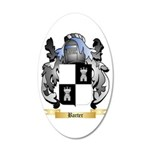 Barter 20x12 Oval Wall Decal