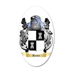 Barter 35x21 Oval Wall Decal