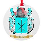 Barte Round Ornament