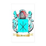 Barte Sticker (Rectangle 50 pk)