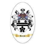 Bartak Sticker (Oval 50 pk)