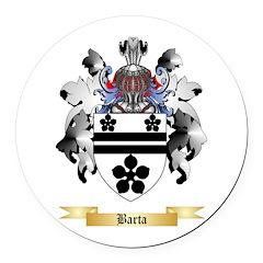 Barta Round Car Magnet