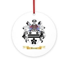 Barson Ornament (Round)