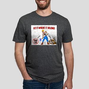 OBAMACARE MANURE Mens Tri-blend T-Shirt