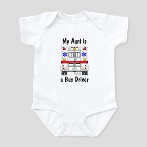 Bus Driver Aunt Infant Creeper