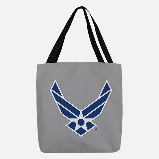 Air Force Symbol Polyester Tote Bag