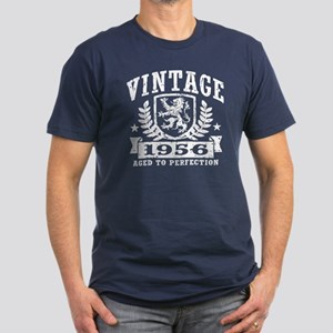 Vintage 1956 Men's Fitted T-Shirt (dark)