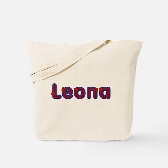 Leona Red Caps Tote Bag