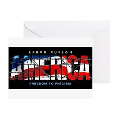 America-B Greeting Cards (Pk of 10)