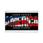 America-B Rectangle Magnet (100 pack)