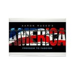 America-B Rectangle Magnet (100 pack)