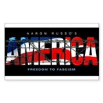 America-B Rectangle Sticker