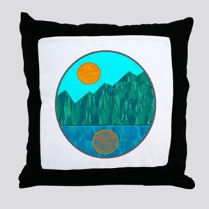 SERENE IS Throw Pillow