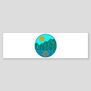SERENE IS Bumper Sticker