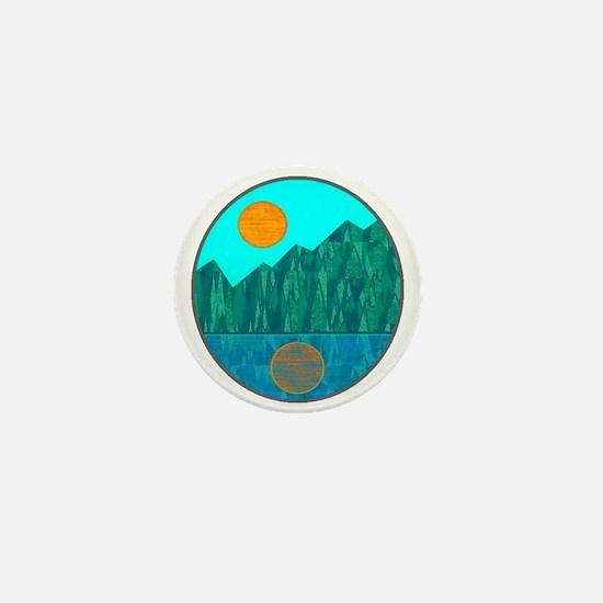 SERENE IS Mini Button