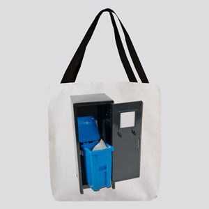 RecyclingSchoolItems122111 Polyester Tote Bag