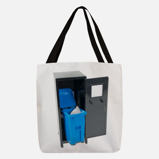 RecyclingSchoolItems122111.png Polyester Tote Bag