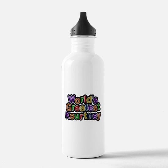 Worlds Greatest Kourtney Water Bottle