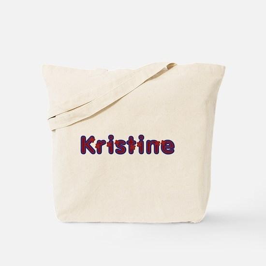 Kristine Red Caps Tote Bag