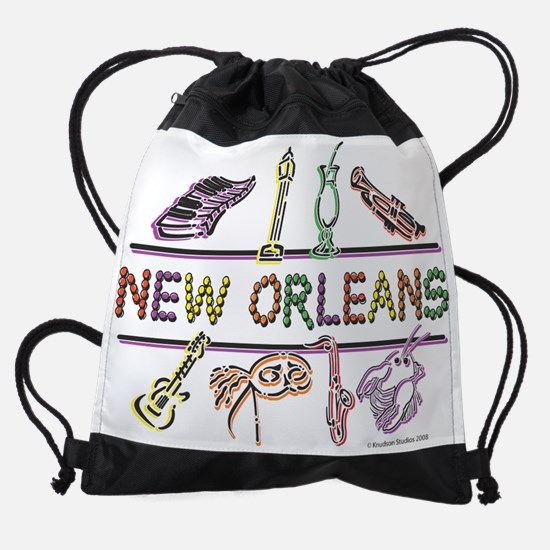 New-Orleans-ICONS-.png Drawstring Bag