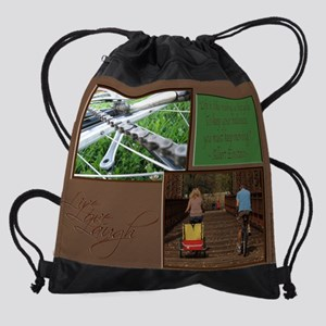 16x20_lifeCycle Drawstring Bag