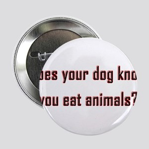 "Does your dog know? 2.25"" Button"