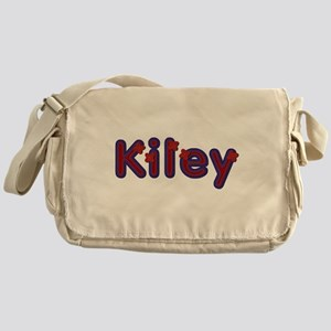 Kiley Red Caps Messenger Bag