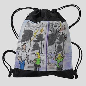 GOOD ATTITUDE Drawstring Bag