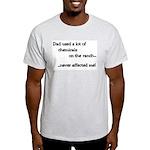 Chemicals Ranch Ash Grey T-Shirt