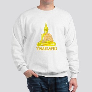 Thailand Buddah Sweatshirt