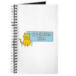 Cat Spoken Here Journal