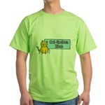 Cat Spoken Here Green T-Shirt