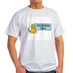 Cat Spoken Here Ash Grey T-Shirt