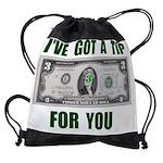 TIP 4 YOU.jpg Drawstring Bag