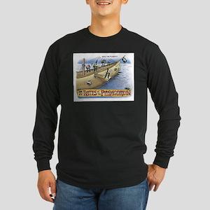 Pi_4 Pi-Rates (10x10 Color) Long Sleeve T-Shir