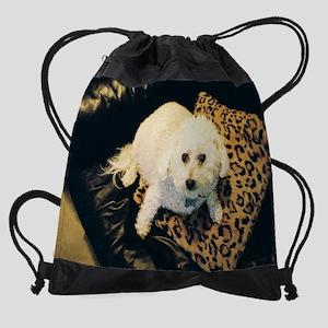 SNICKY COTTON HEAD Drawstring Bag