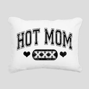 Hot Mom Rectangular Canvas Pillow