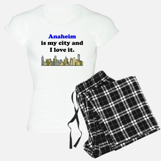Anaheim Is My City And I Love It Pajamas
