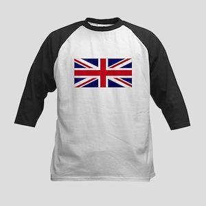 ENGLAND FLAG, GREAT BRITAIN F Kids Baseball Jersey