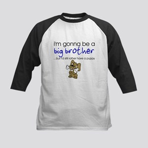 Gonna be big brother (puppy) Kids Baseball Jersey