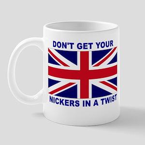 FUNNY ENGLISH HUMOR, BRITTISH Mug