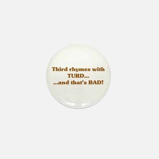 The Wisdom of T Mini Button