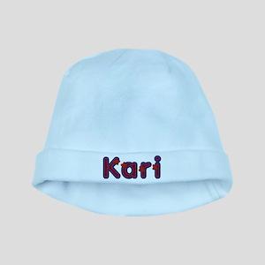 Kari Red Caps baby hat